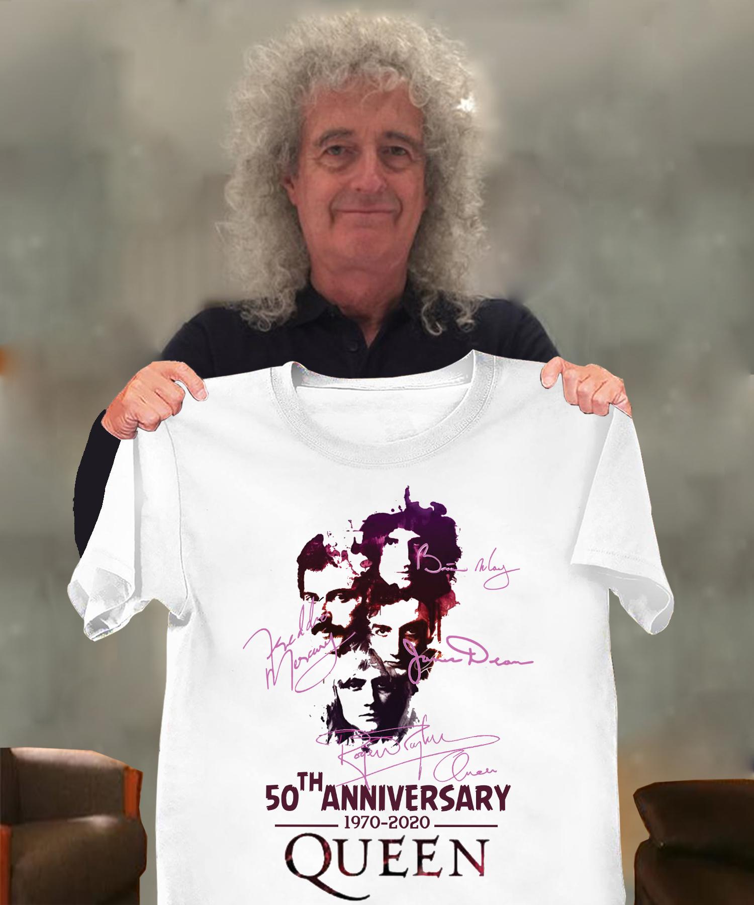 50th anniversary 1970-2020 queen Men T-Shirt