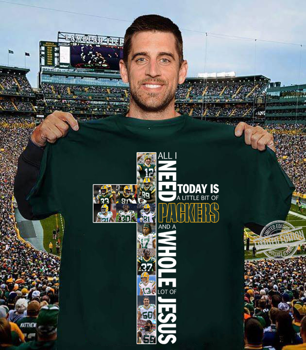 All I Need Today Is A Little Bit Of PAckers Long Sleeve T-Shirt