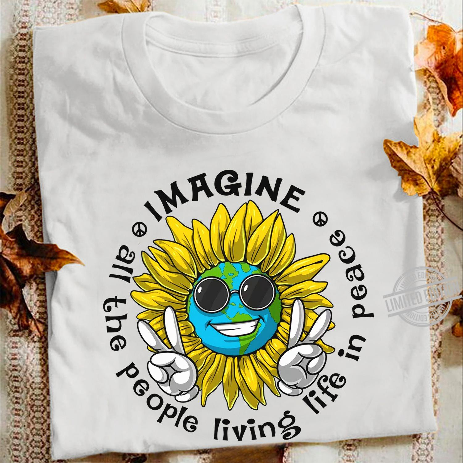 All The People Living Life In Peace Men T-Shirt