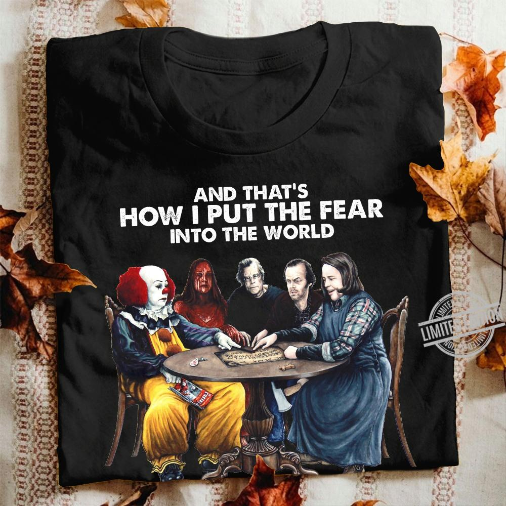And That's How I Put the Fear Into The World Pennywise And Friends Women Jersey Tank Top