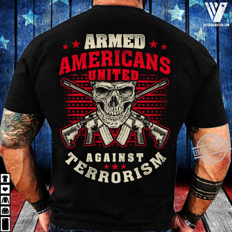 Armed Americans United Against Terrorism Women T-Shirt