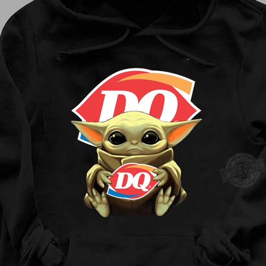 Baby Yoda Hug DQ Women Jersey Tank Top