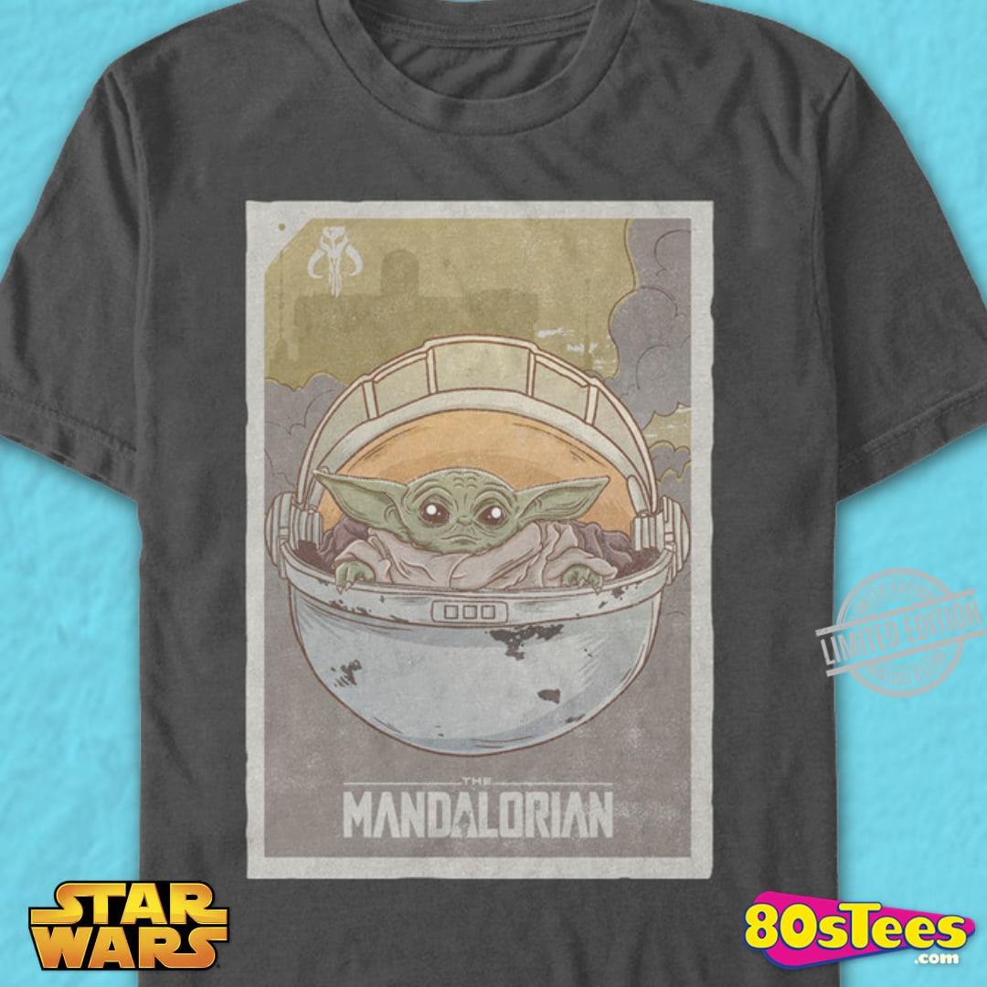 Baby Yoda The Mandalorian Men T-Shirt