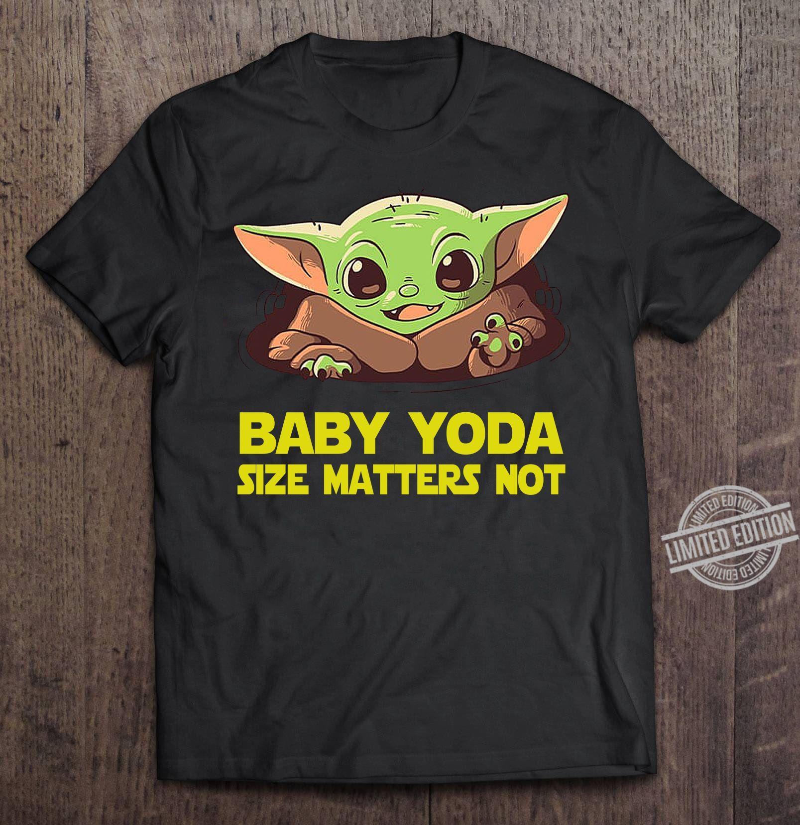 Baby Yoda Zide Matters Not Hoodie