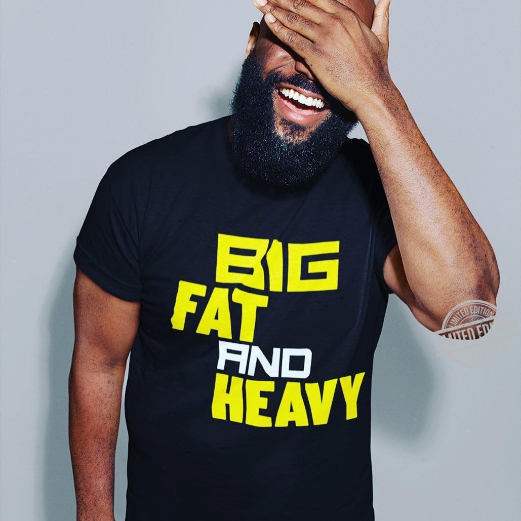 Big Fat And Heavy Long Sleeve T-Shirt