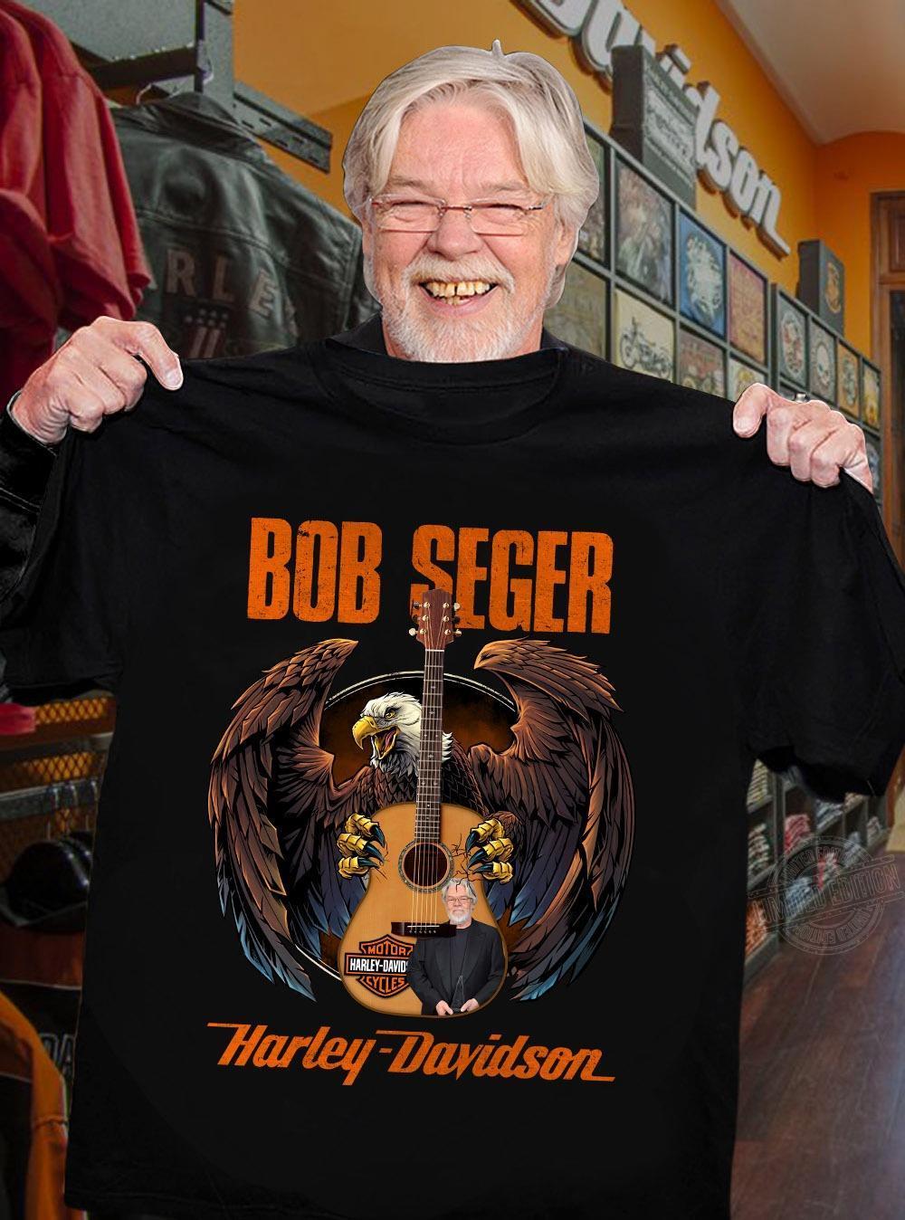 Bob seger harley-davidson Long Sleeve T-Shirt