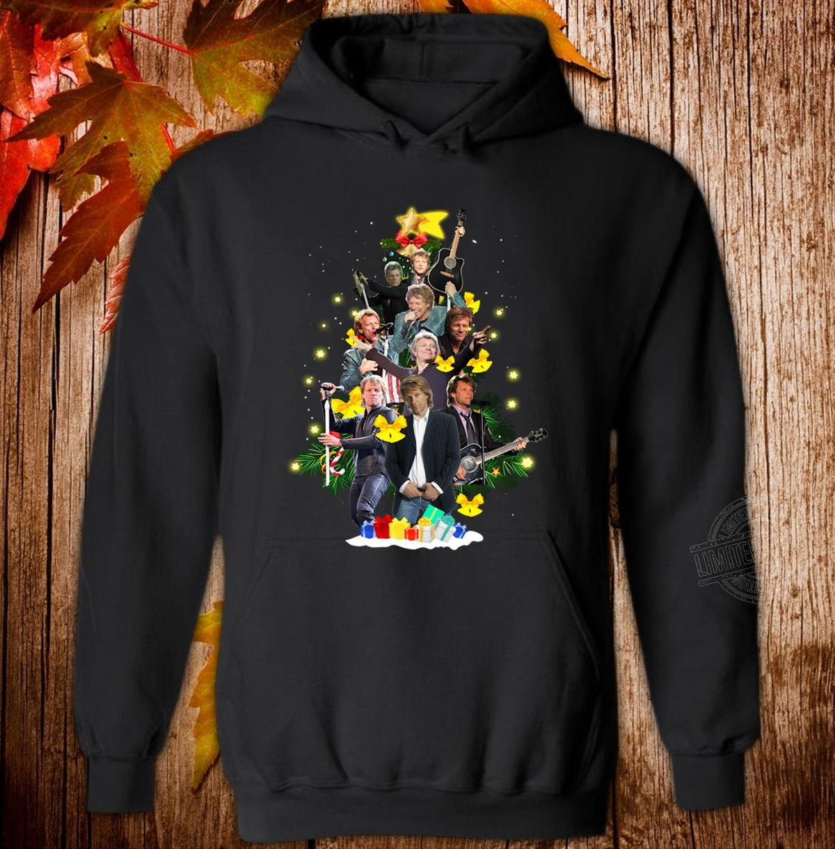 Bon Jovi Christmas Tree Hoodie
