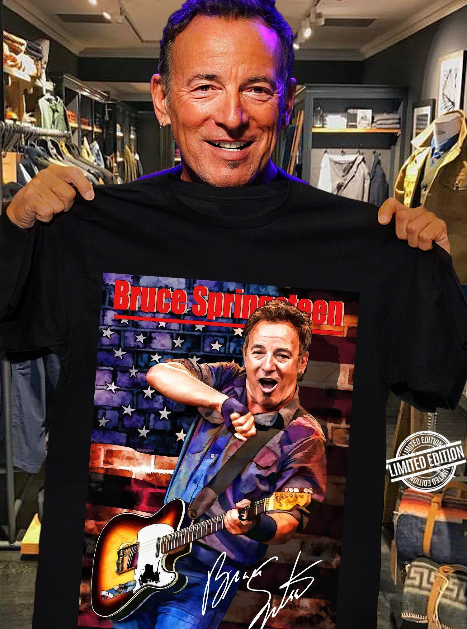 Bruce Springsteen Men T-Shirt