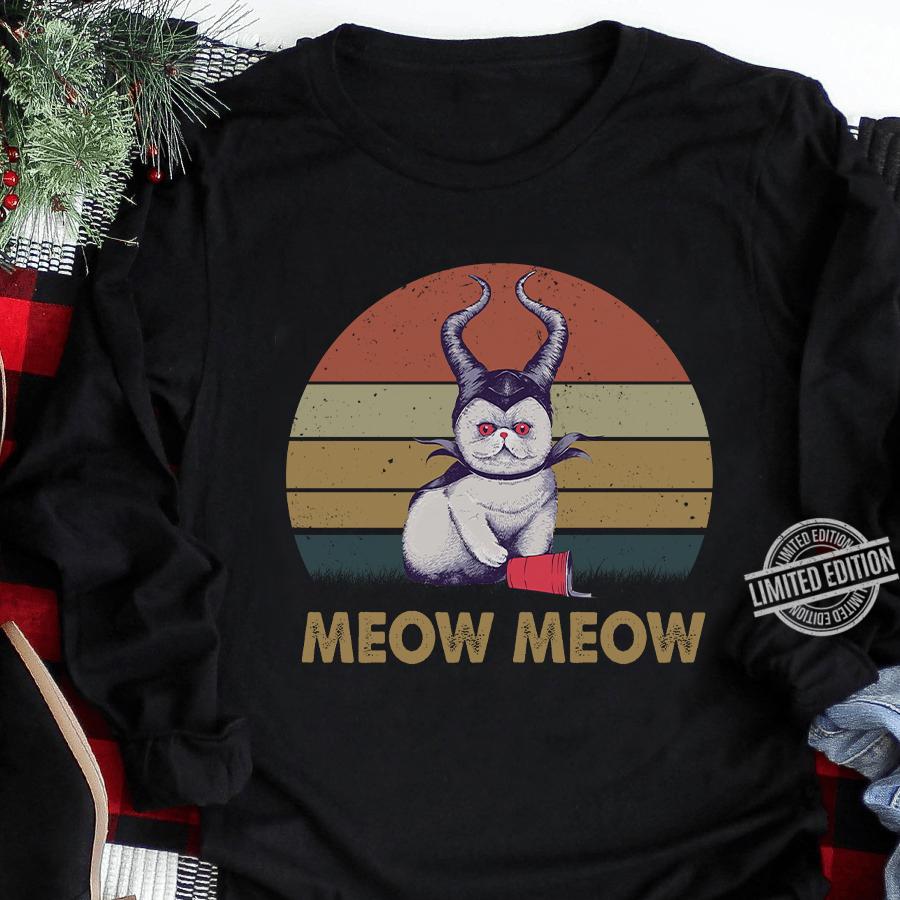 Cat Meow Meow Vintage Sweatshirt