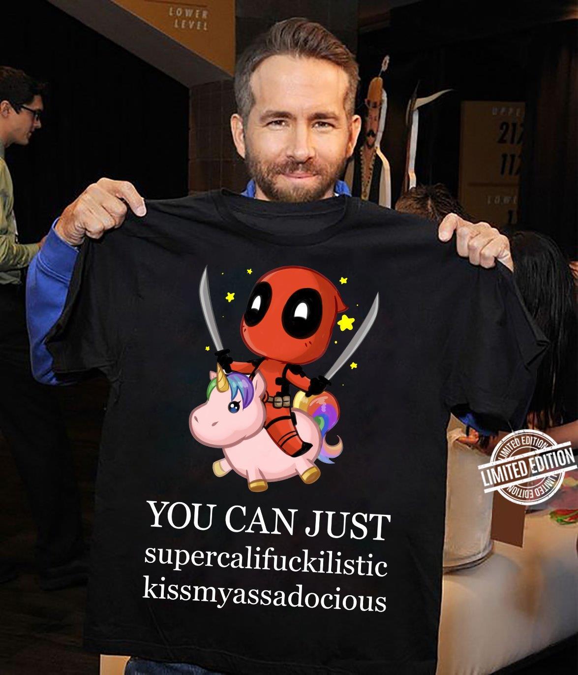 Deadpool And Unicorn You Can Just Sweatshirt
