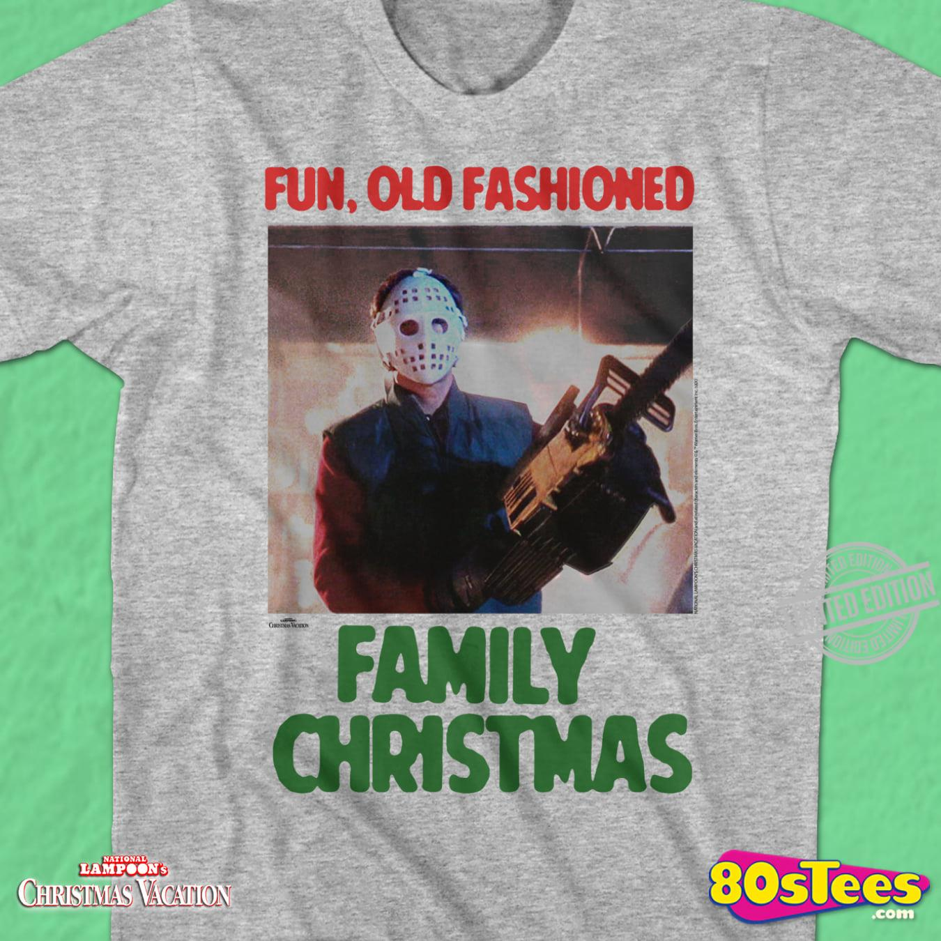 Fun, Old Fashioned Family Christmas Sweatshirt