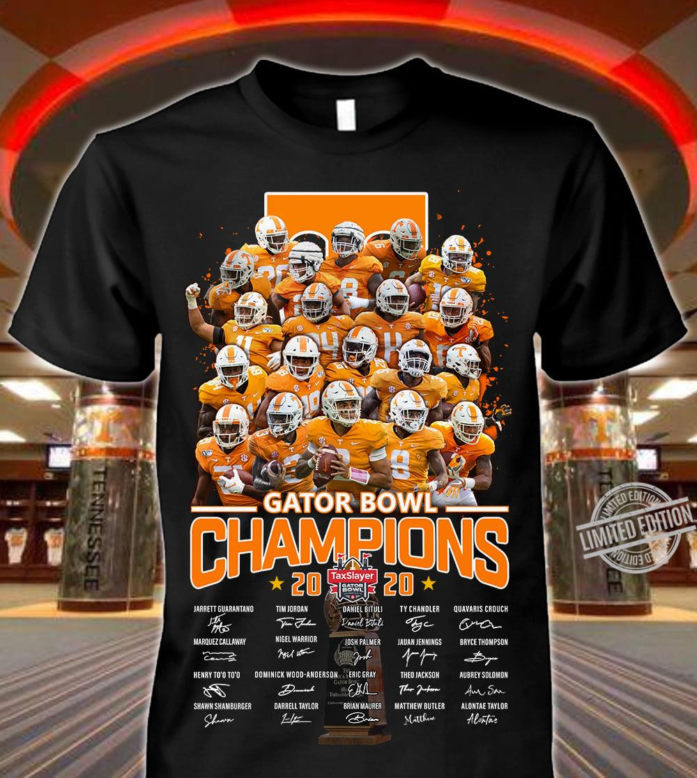 Gator Bowl Champions 2020 Signature Long Sleeve T-Shirt