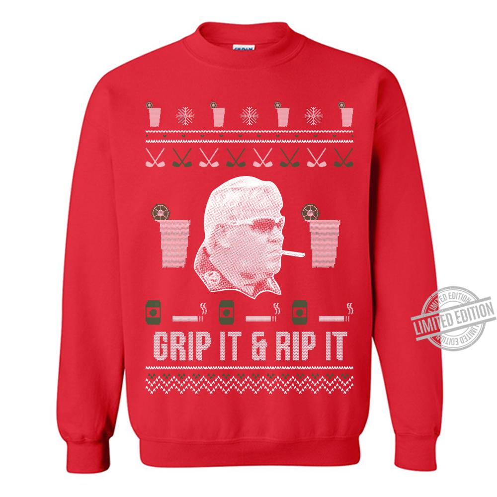 Grip It & Rip It Merry Christmas Women T-Shirt