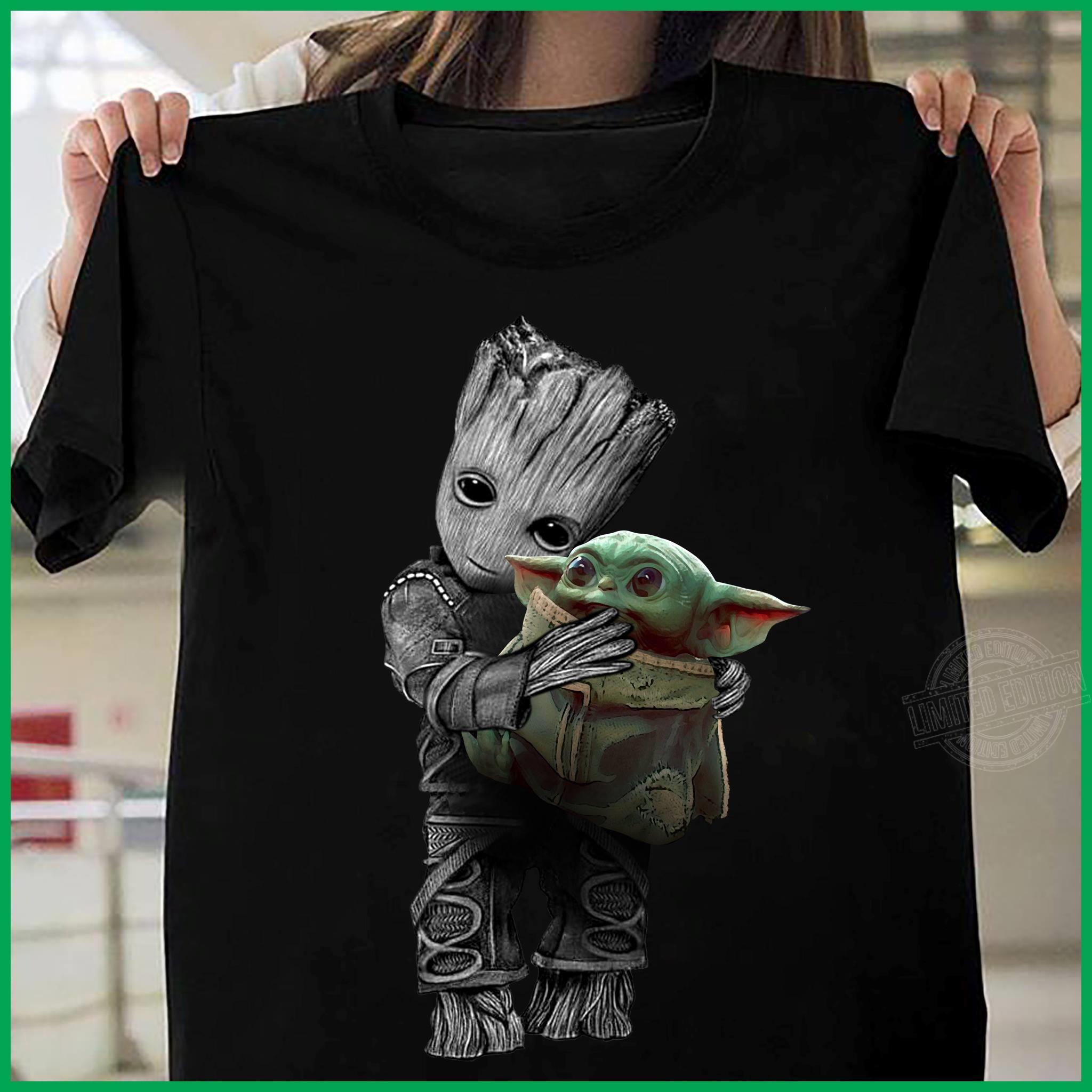 Groot Hug Baby Yoda Sweatshirt