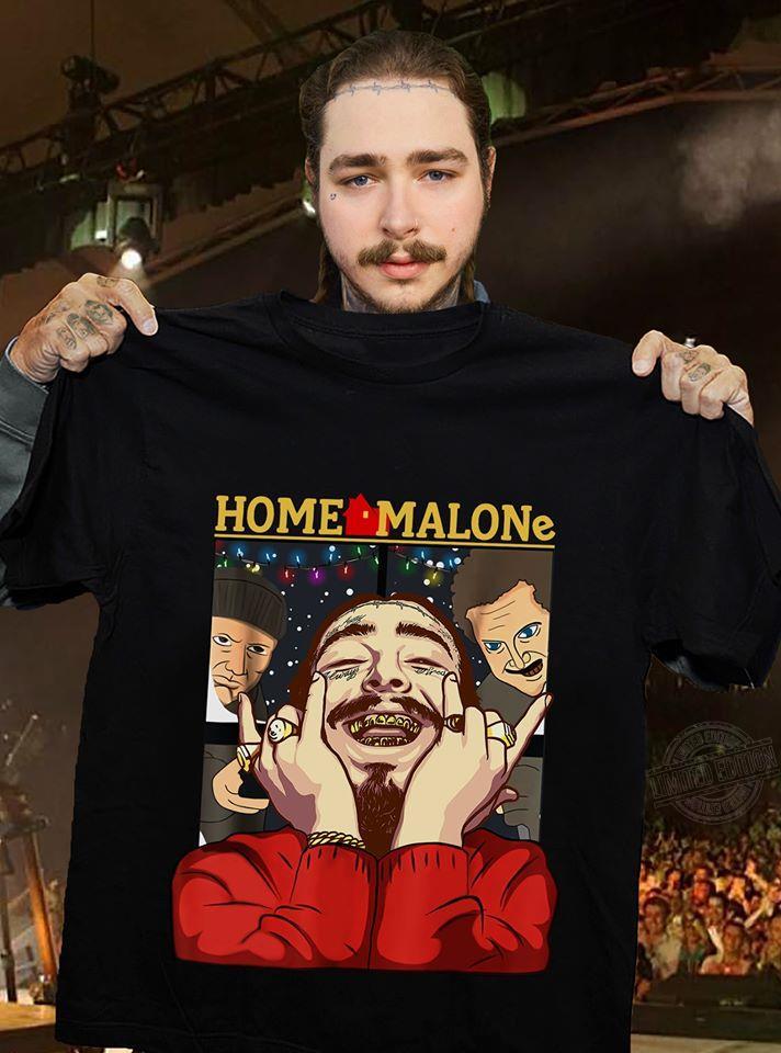 Home Malone Post Malone Home Alone Version Hoodie