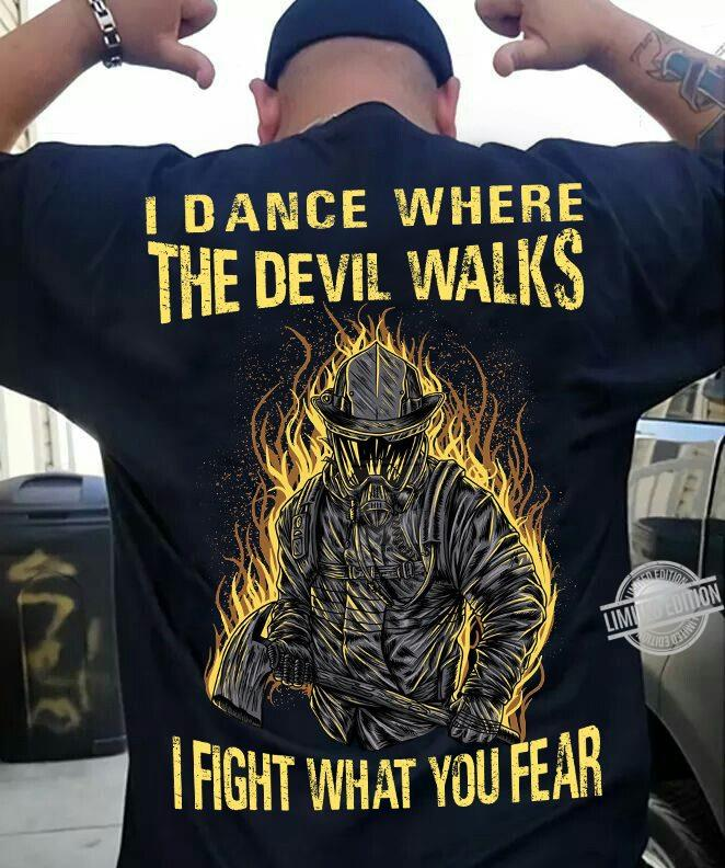 I Dance Where The Devil Walks I Fight What You Fear Women Jersey Tank Top