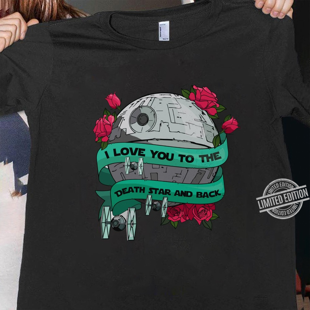 I Love You To The Death Star And Back Men T-Shirt