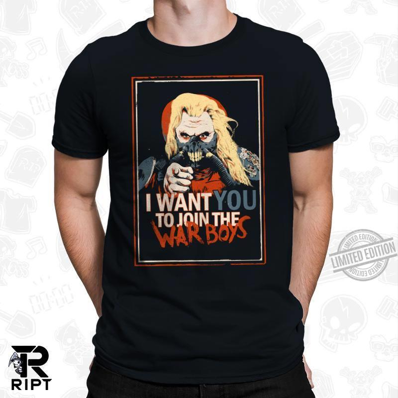 I Want You Join The War Boys Long Sleeve T-Shirt