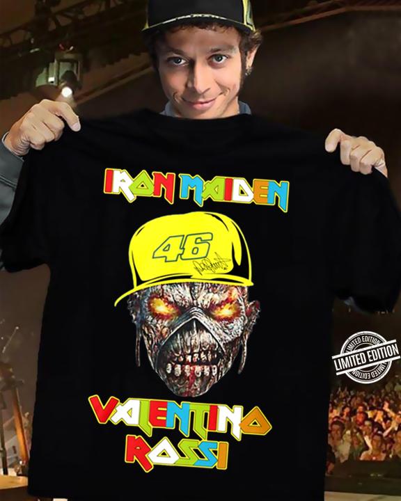Iron Maiden Valentino Rossi Women T-Shirt