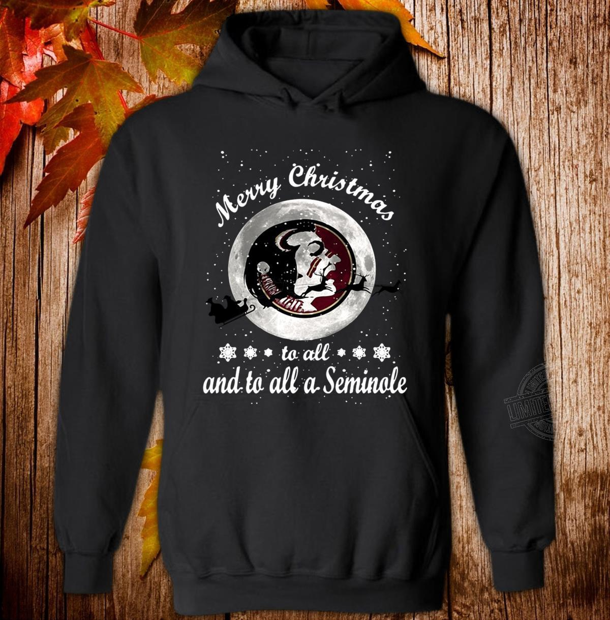 Merry Christmas to all and to all a Seminole Hoodie
