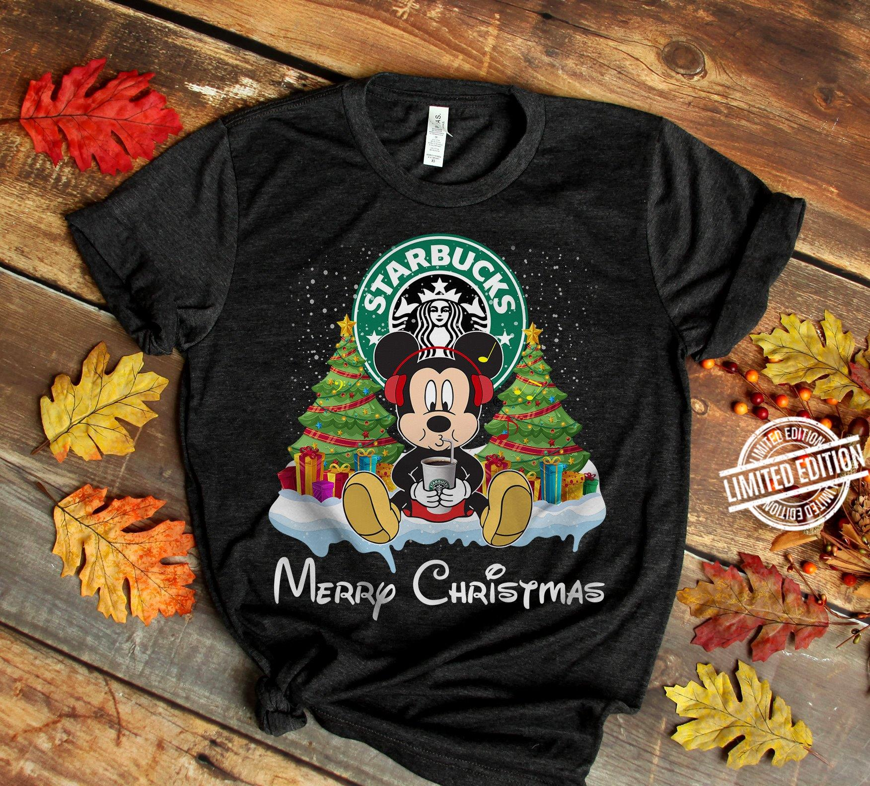 Mickey Merry Christmas Long Sleeve T-Shirt