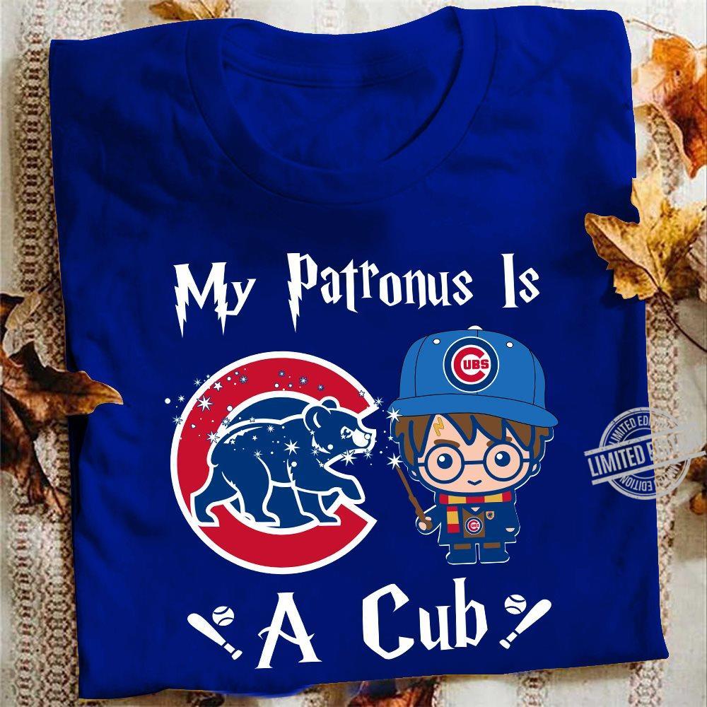 My Patronus Is A Cubs A Cub Women Jersey Tank Top