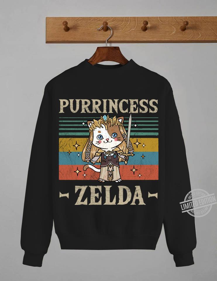 Purrincess Zelda Sweatshirt