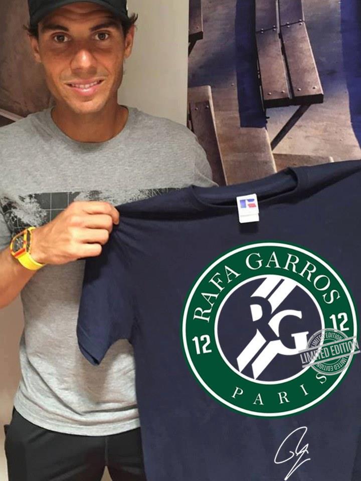Rafa Garros 1212 Paris Signature Long Sleeve T-Shirt