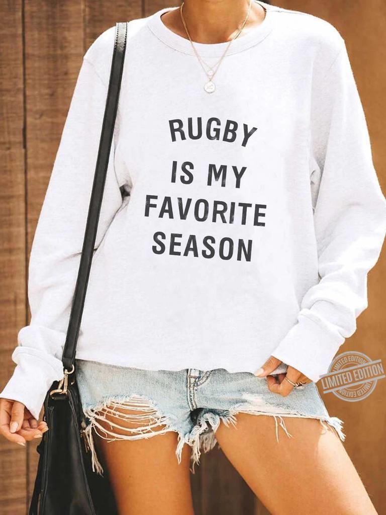 Rugby Is My Favorite Season Men T-Shirt