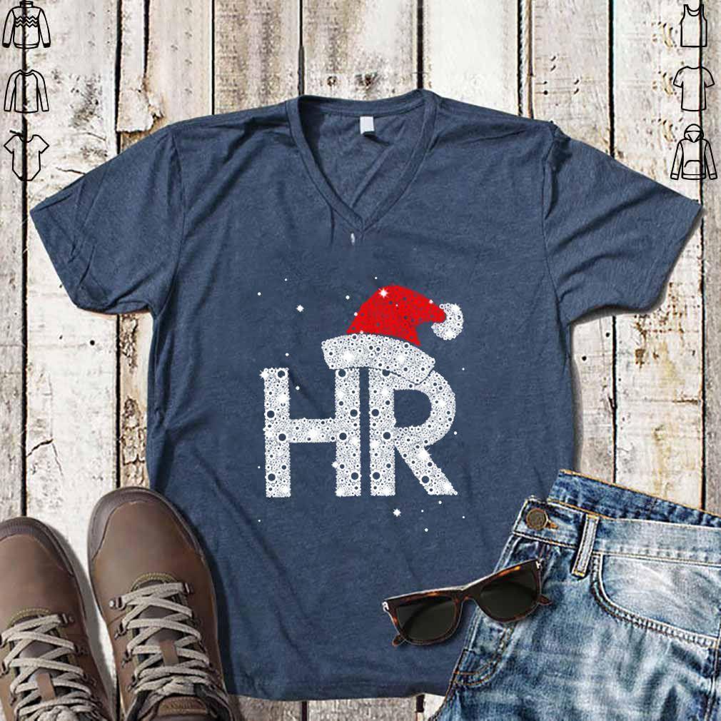Santa HR Human Resources Diamond Christmas Women Jersey Tank Top