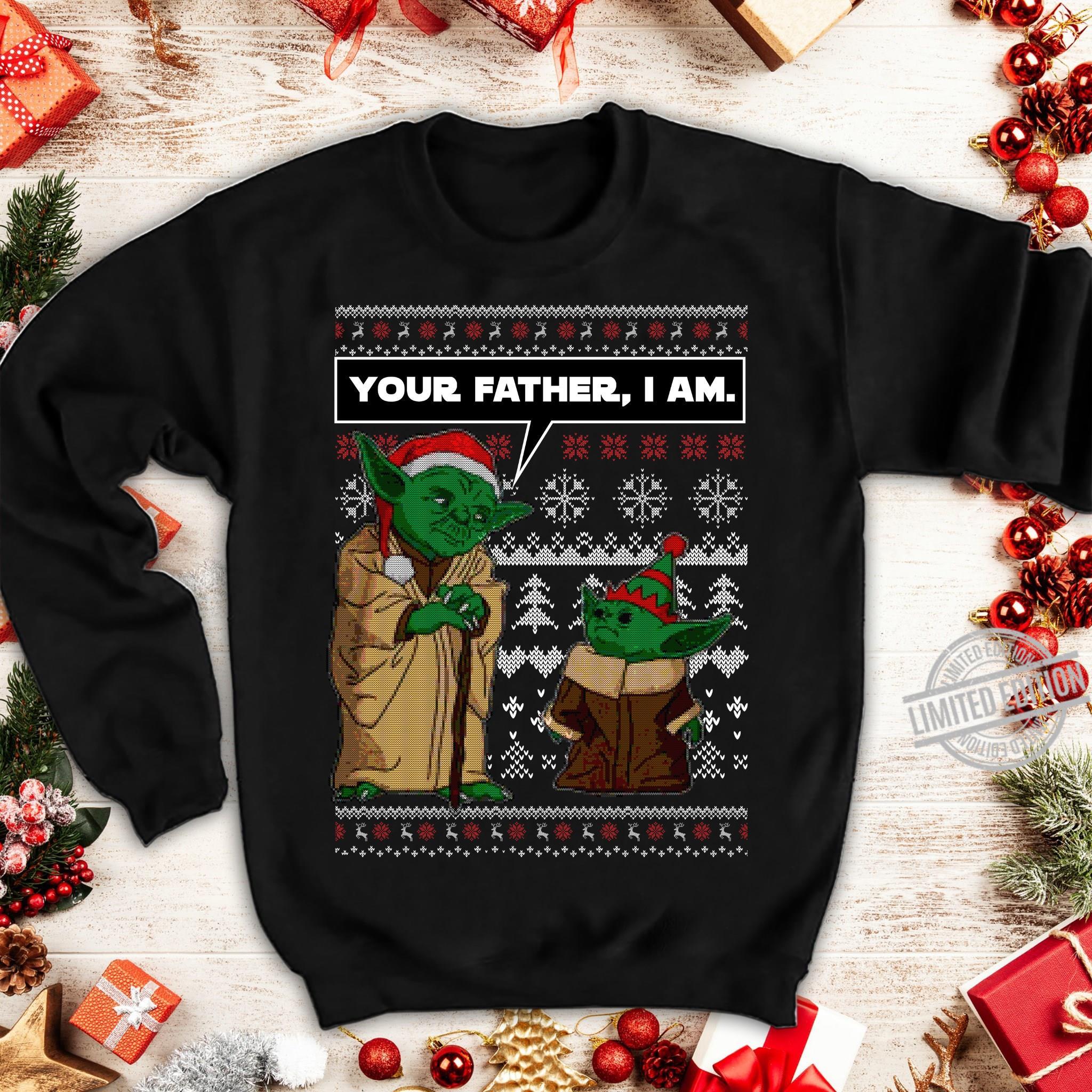 Santa Yoda Your Father, I Am Women T-Shirt