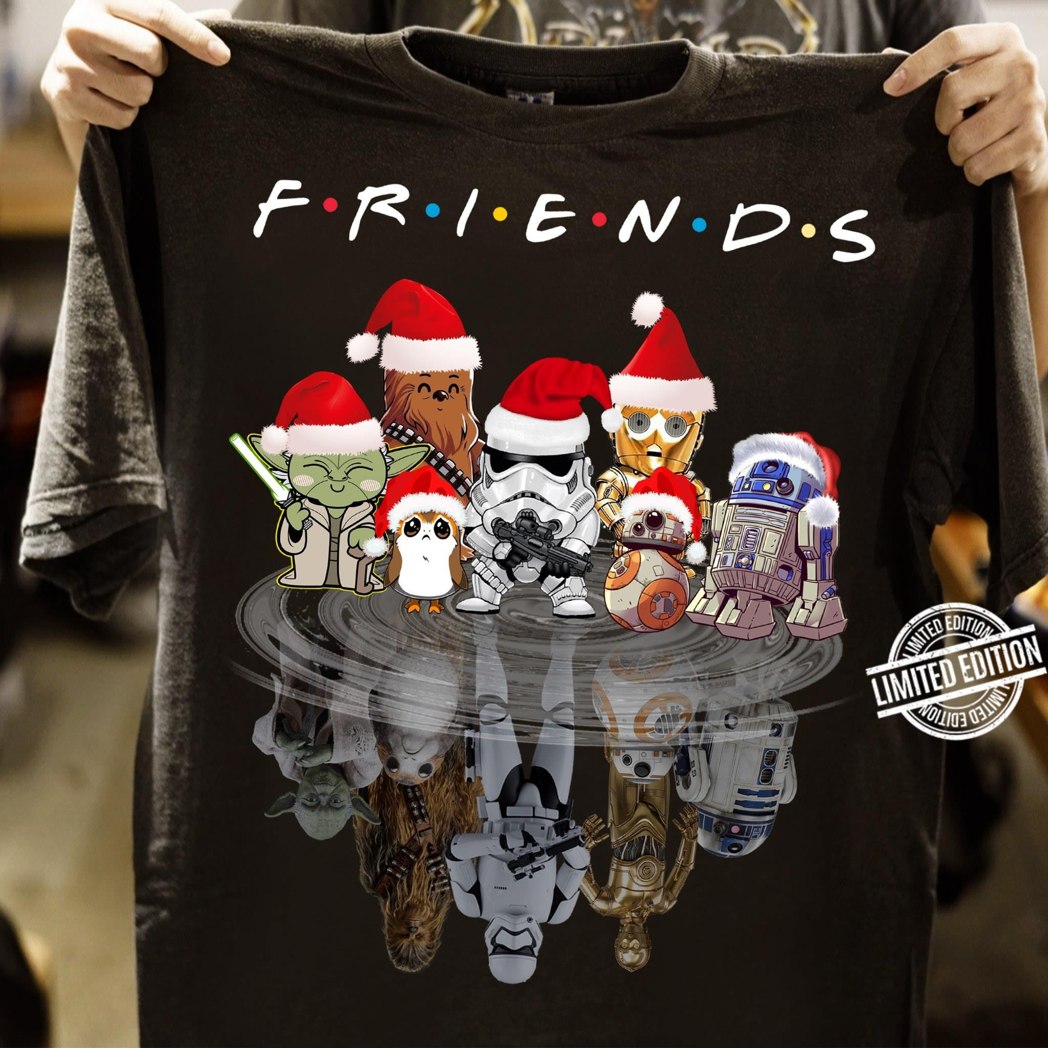Star Wars Shadow Friends TV Show Christmas Long Sleeve T-Shirt