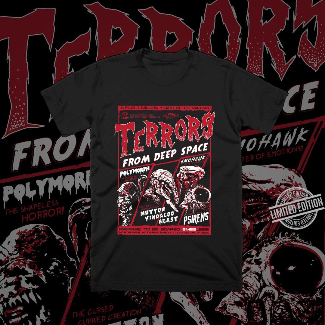 Terrors From Deep Space Men T-Shirt