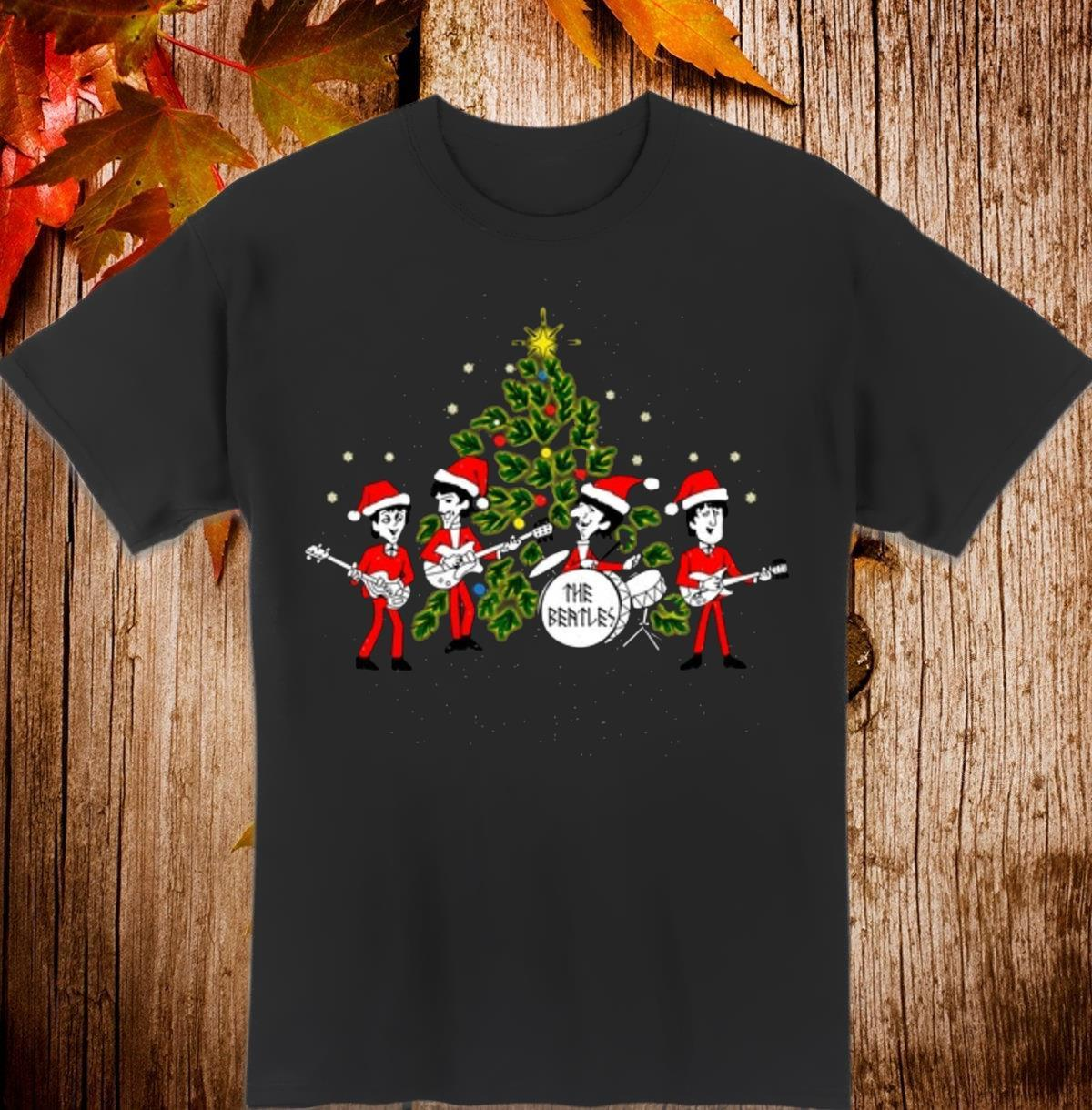 The Beatles song happy Christmas Men T-Shirt