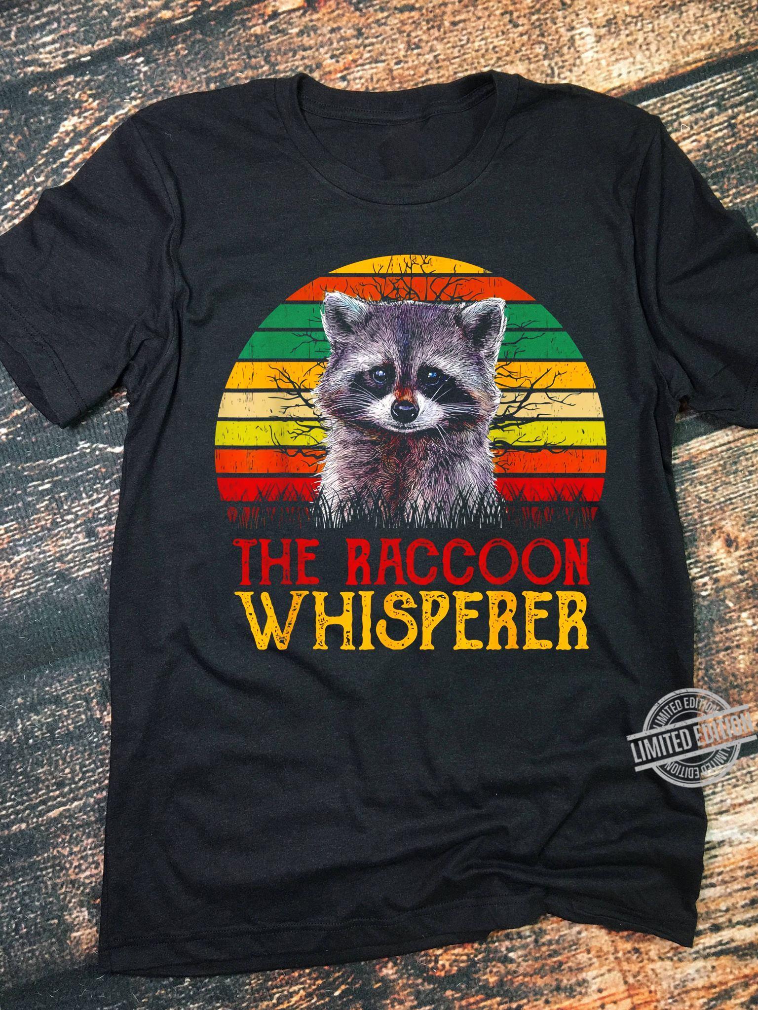 The Raccoon Whisperer Women T-Shirt