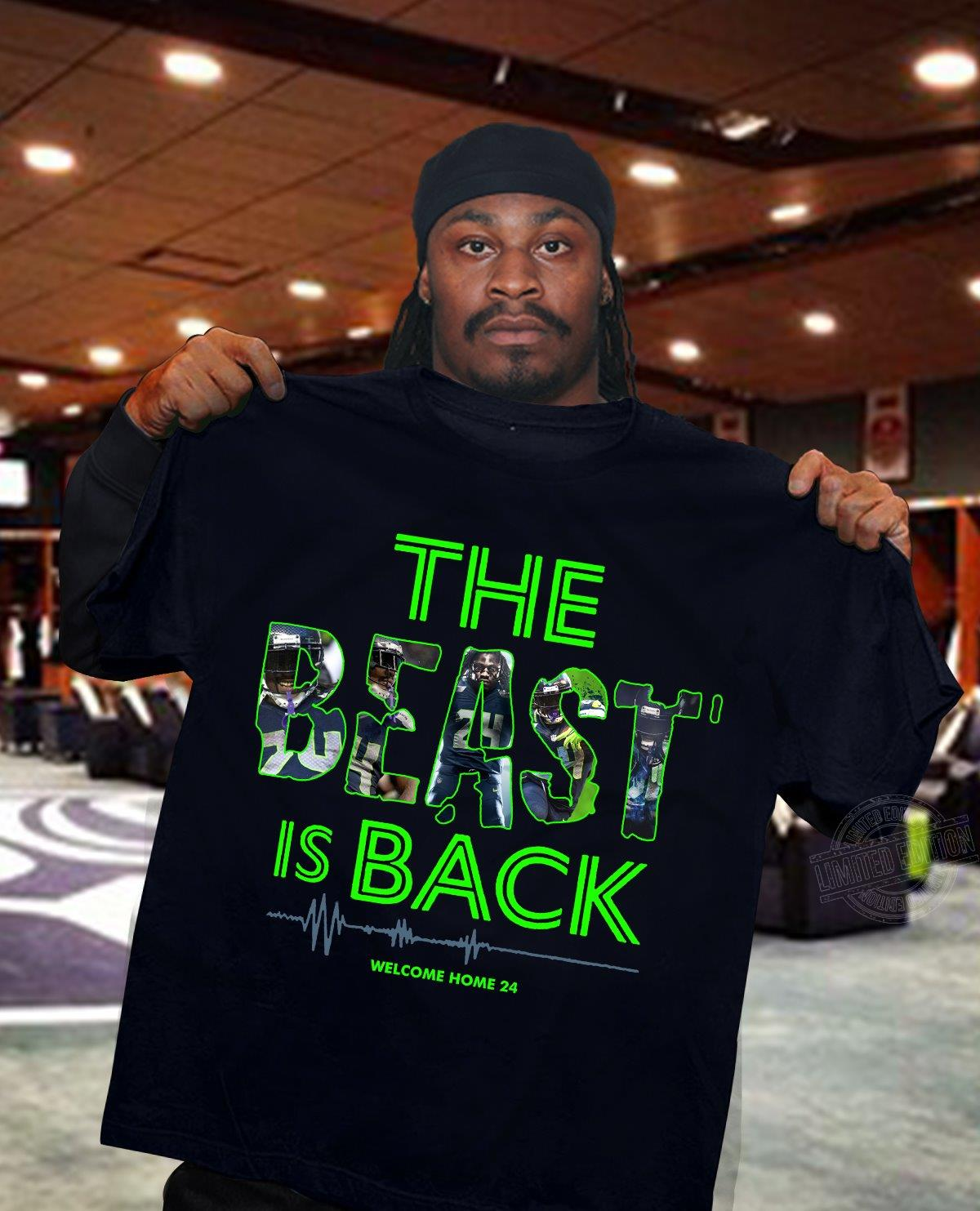 The beast is back Men T-Shirt