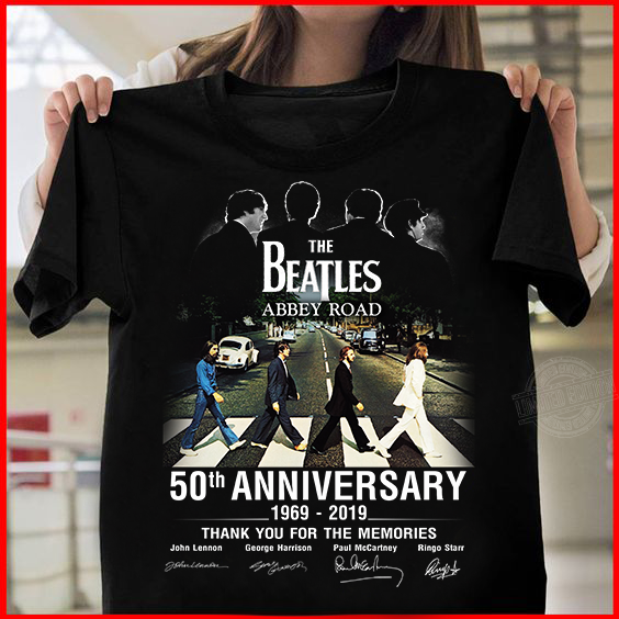 The beatles abbey road 50th anniversary 1969-2019 thank you for the memories Sweatshirt