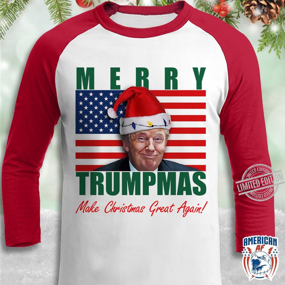 Trump Merry Trumpmas Make Christmas Great Again Hoodie