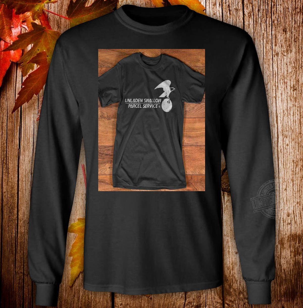Unladen Swallow Parcel Service Long Sleeve T-Shirt