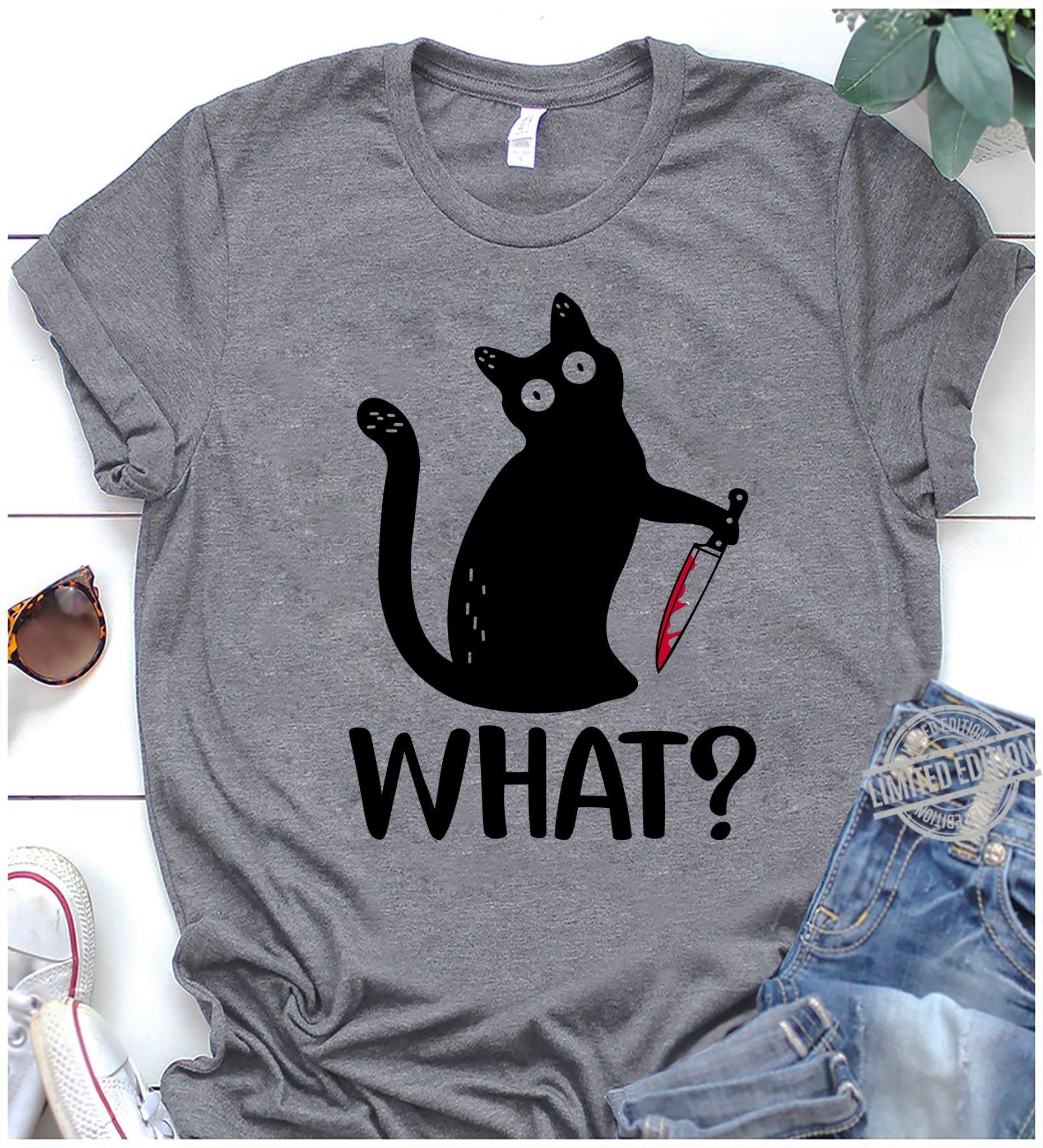 What Cat Sweatshirt