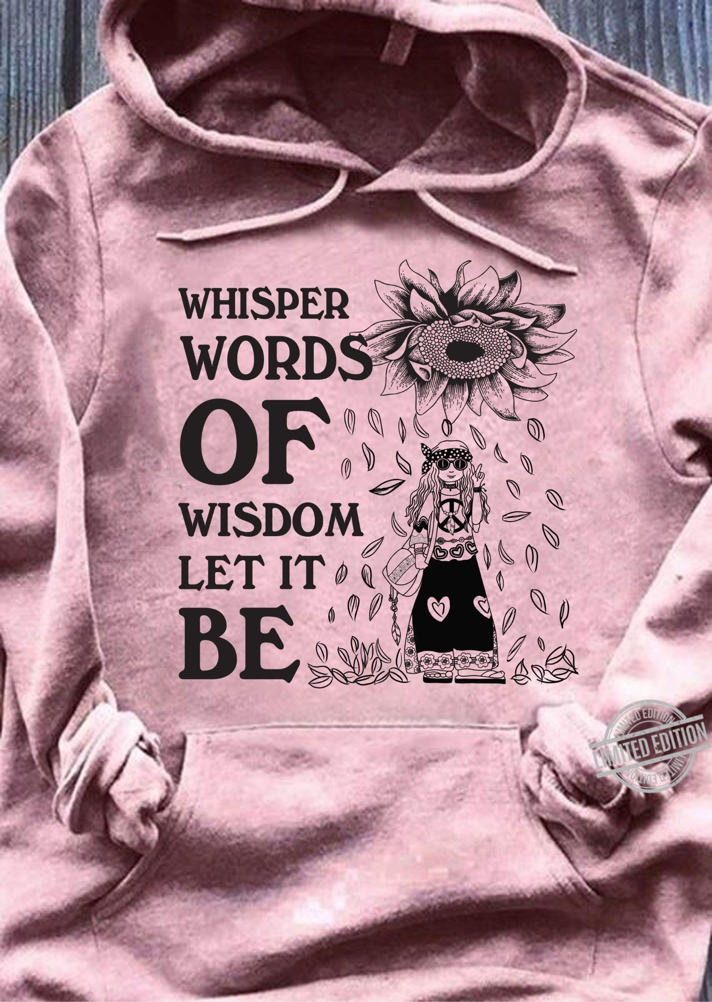 Whisper Words Of Wisdom Let It Be Women Jersey Tank Top