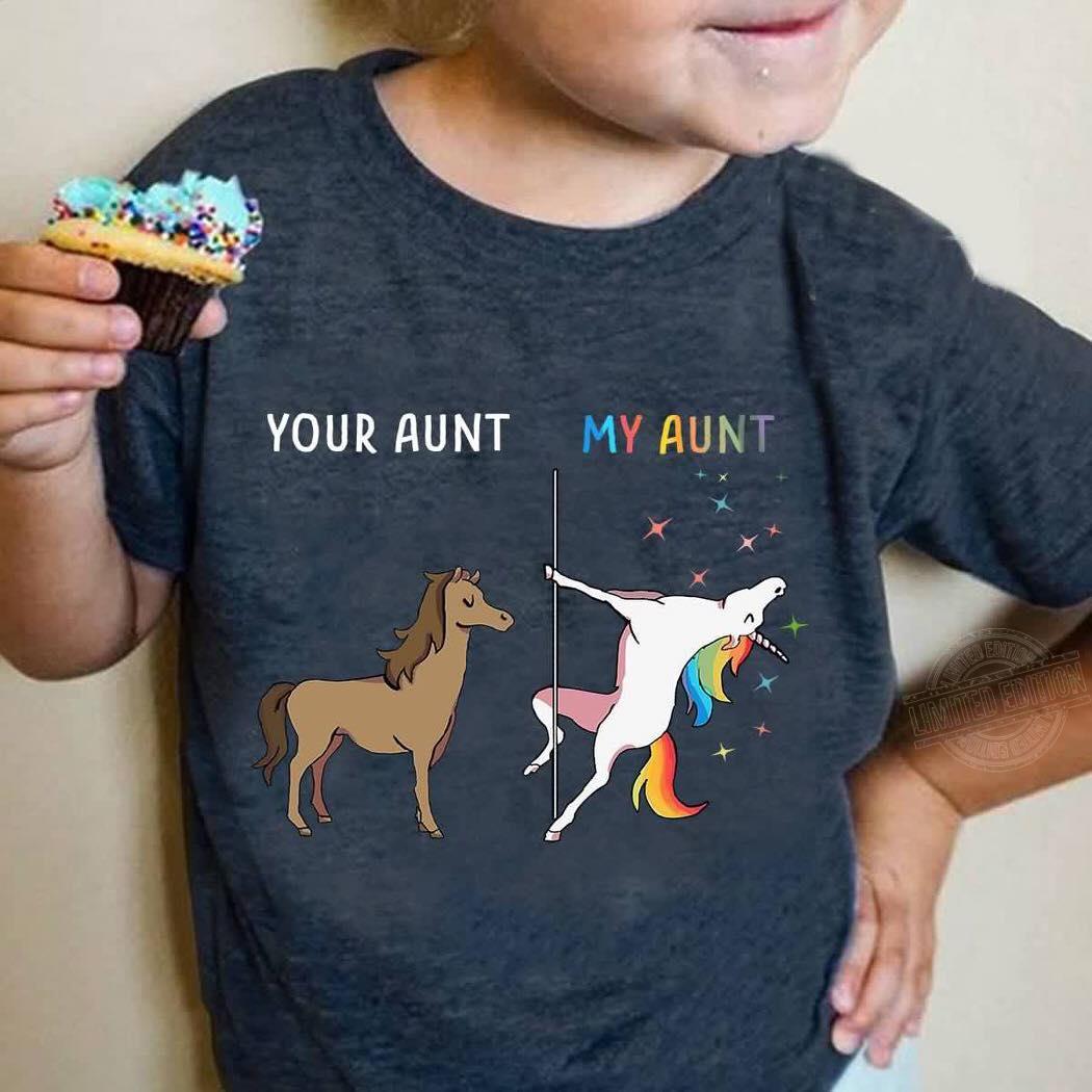 Your aunt and my aunt unicorn Sweatshirt